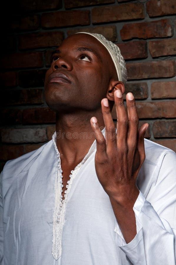 muzułmański modlenie zdjęcie stock