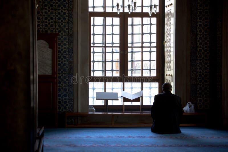 muzułmański modlenie zdjęcie royalty free