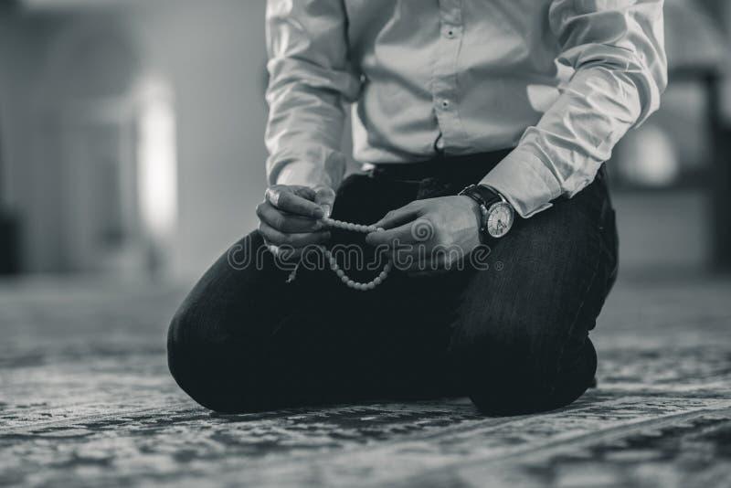 muzułmański modlitwa obraz royalty free