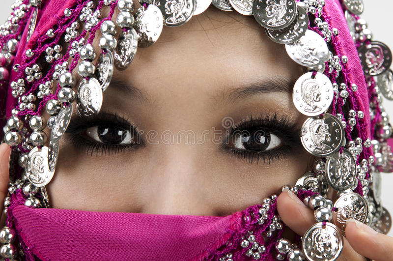 Muzułmańskie kobiety fotografia stock