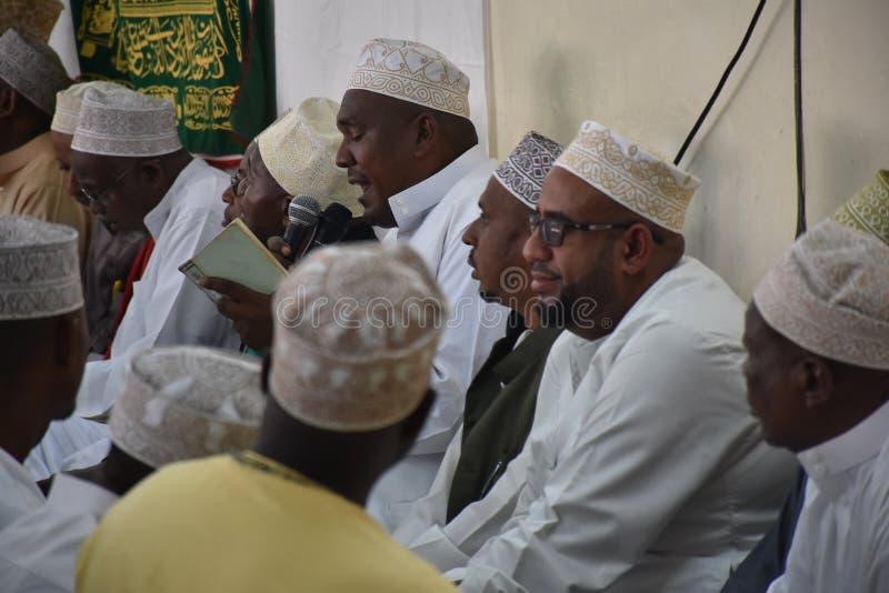 Muzułmanie w Maulid fotografia royalty free
