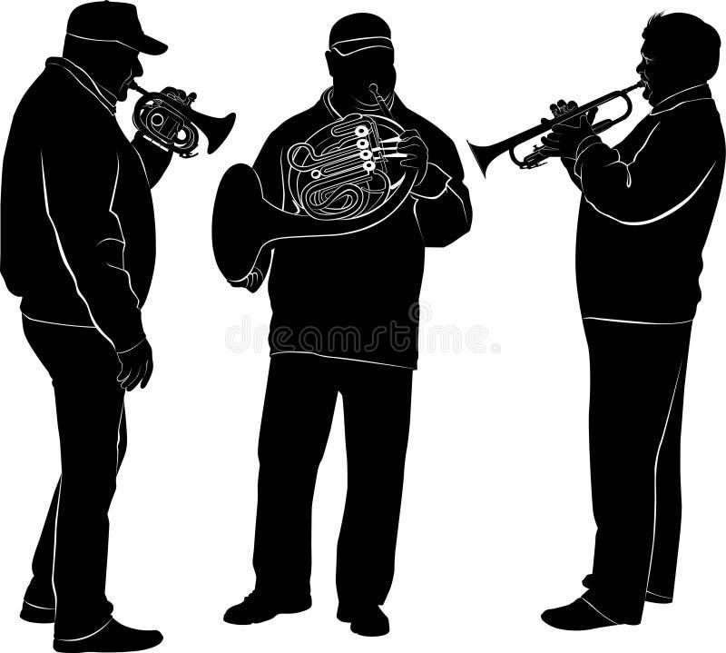 muzycy ilustracji