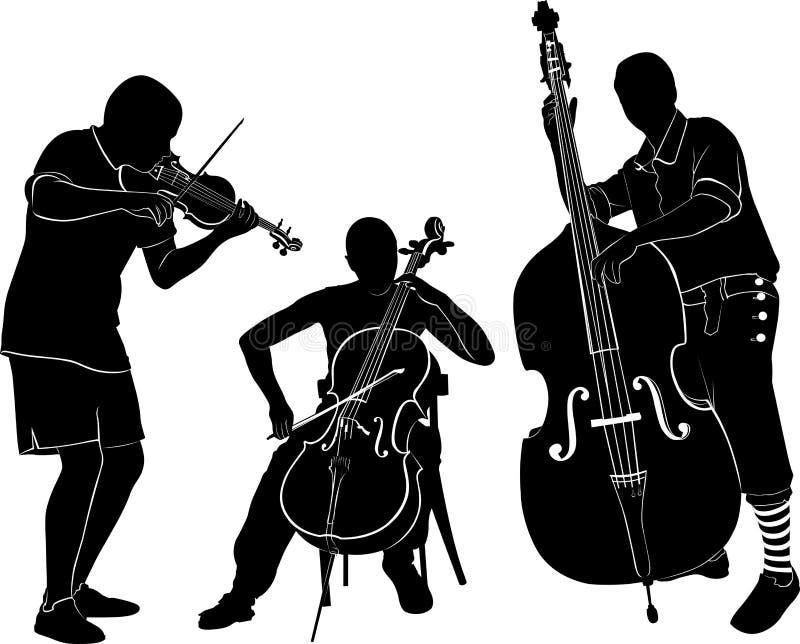 muzycy ilustracja wektor