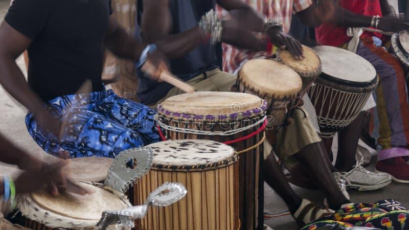muzycy afryki obrazy stock