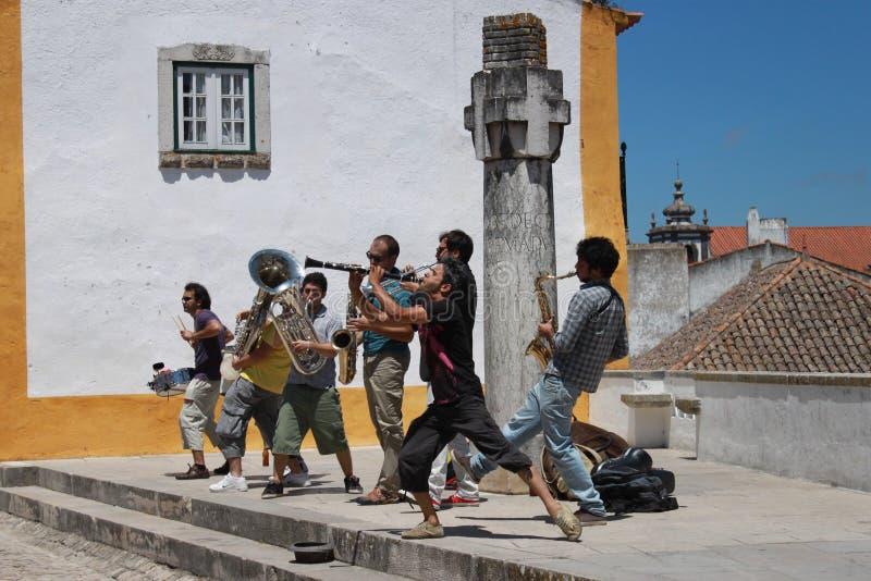 muzycy uliczni fotografia royalty free