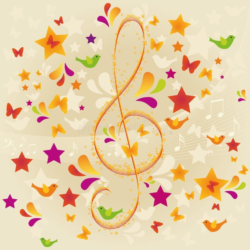 muzyczna natura s ilustracji