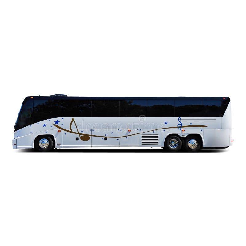 Muzyczna zespół wycieczka autobusowa fotografia royalty free