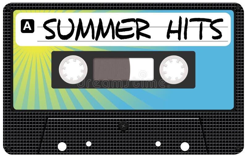muzyczny lato ilustracja wektor