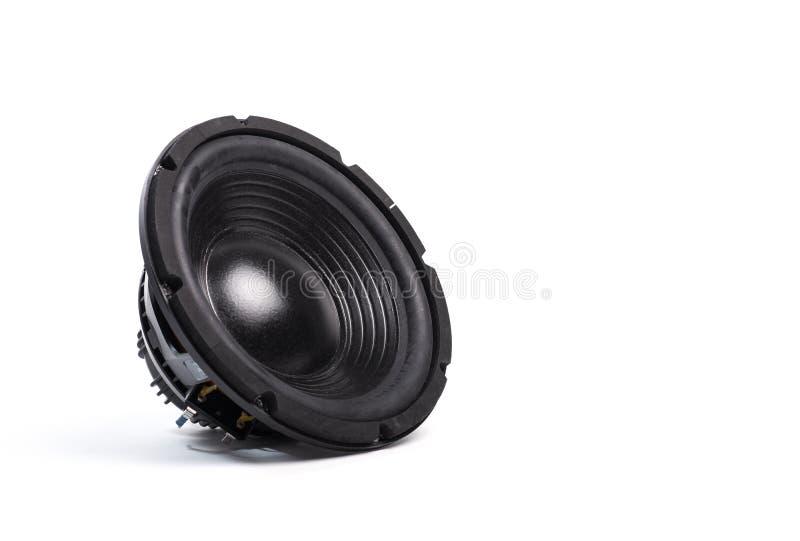 Muzyczny mówca, woofer obrazy royalty free