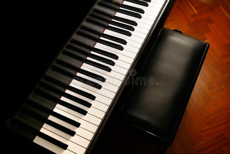 muzyczny pianino zdjęcia royalty free