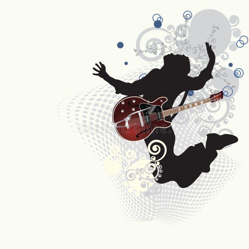 muzyczny plakat ilustracji