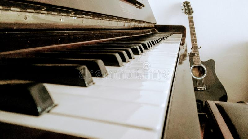 Muzyczny pokój zdjęcia stock