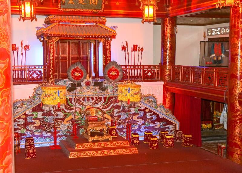 Muzyczny pokój w cesarza pałac zdjęcia stock
