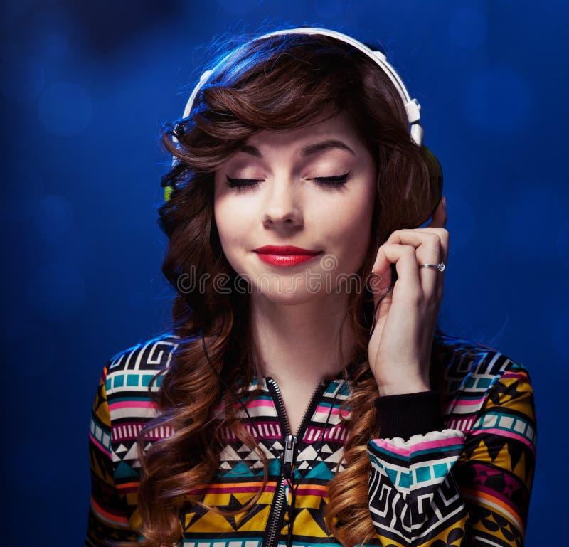 Muzyczny portret obraz stock