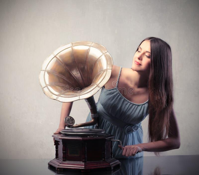 muzyczny rocznik zdjęcie stock