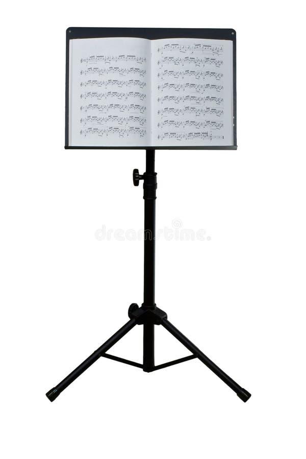 muzyczny stojak zdjęcie stock