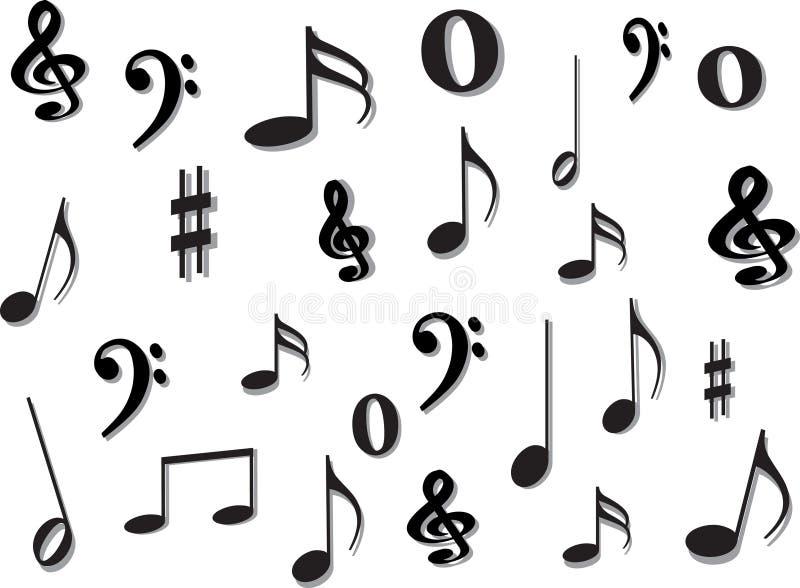 muzyk uwagi ilustracja wektor