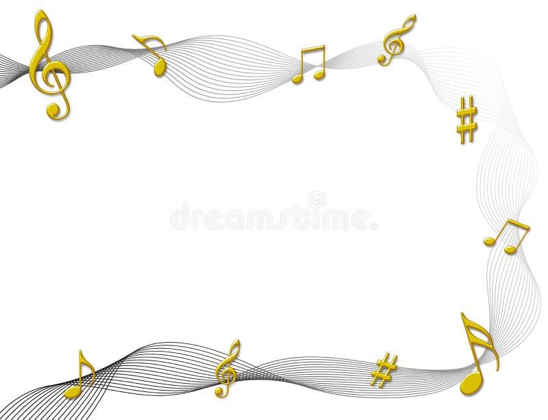 muzyk uwagi ilustracji