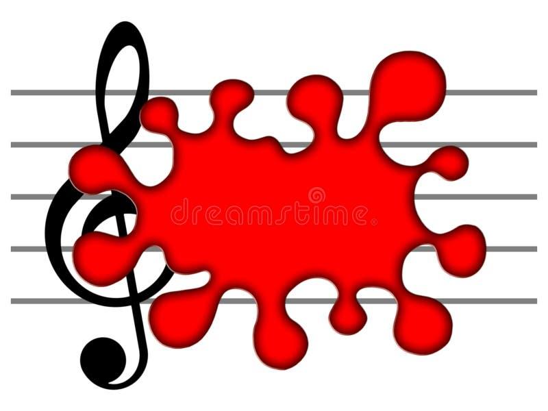 Download Muzyka ilustracji. Ilustracja złożonej z kontur, linia - 13340877