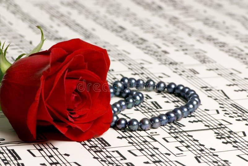 muzyka 4 rose zdjęcia stock