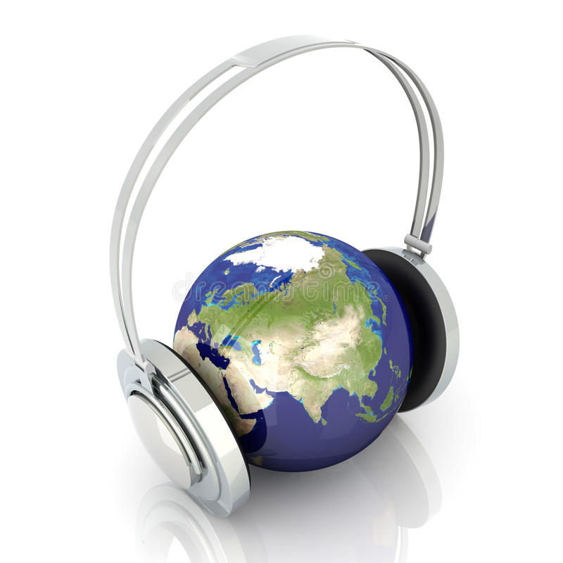 Muzyka Azja Obrazy Royalty Free