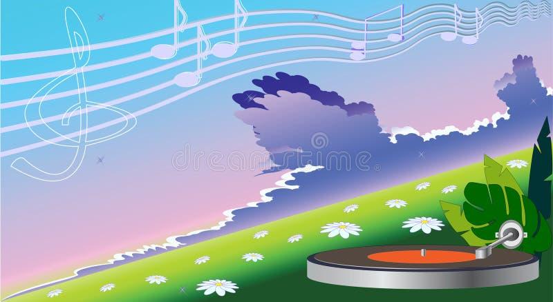 muzyka klasyczna ilustracja wektor