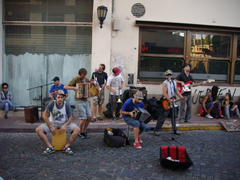 Muzyka przy ulicą obraz stock
