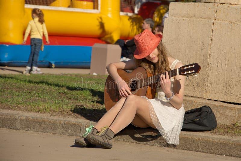Muzyka ulica zdjęcia stock