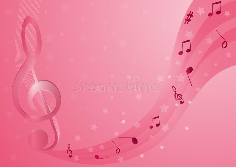 Muzykalne notatki royalty ilustracja