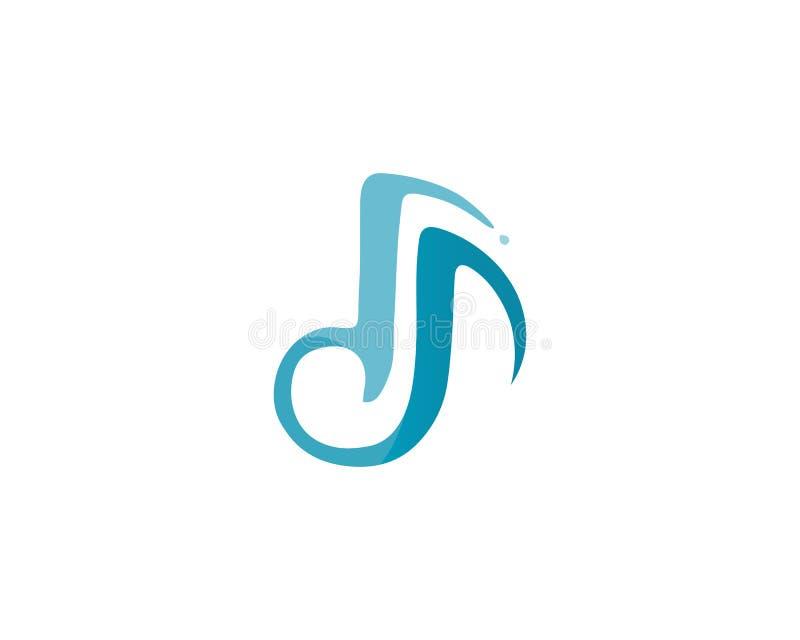 Muzyki ikony nutowy wektor ilustracji