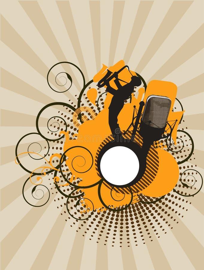 muzyki koncertowej pomarańcze ilustracji