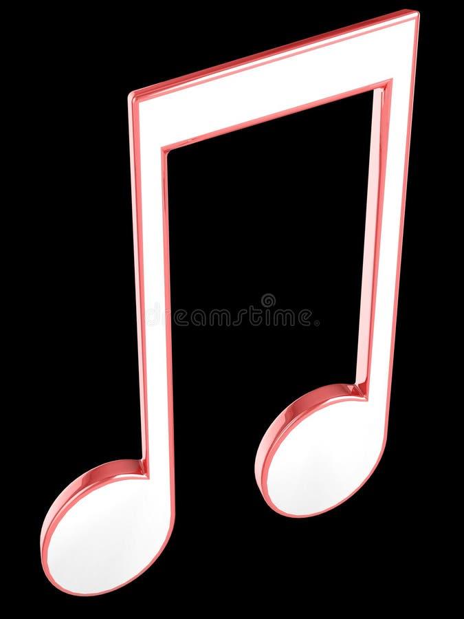 Muzyki melodia. zdjęcia stock