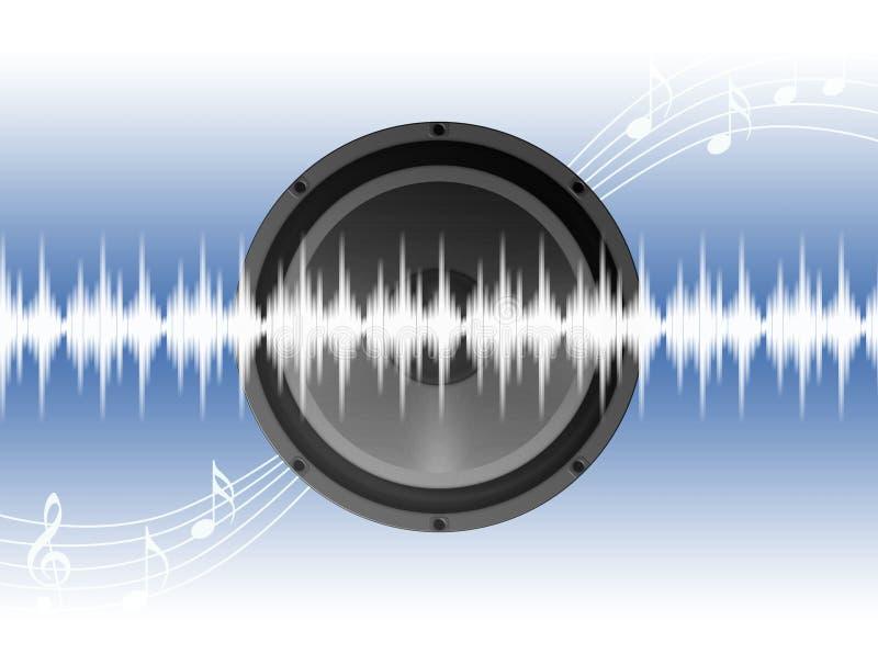 Download Muzyki przyjęcie ilustracji. Ilustracja złożonej z post - 13331769