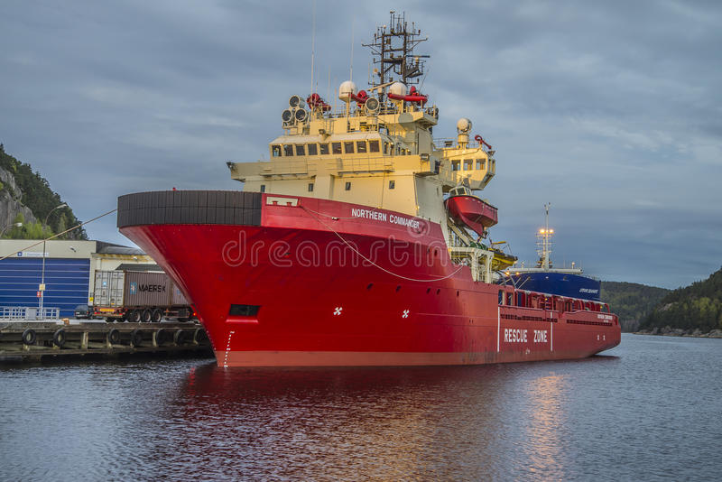 MV Północny dowódca zdjęcia stock