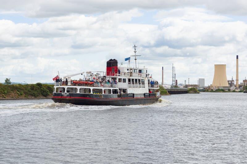 MV Real Íris do Mersey imagem de stock