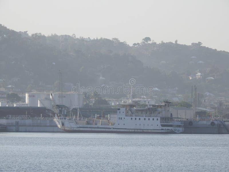 MV Serengeti ferry in Mwanza, Lake Victoria, Tanzania stock photo