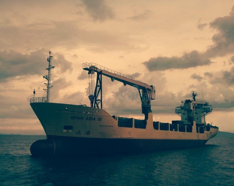 MV Spanwijdte Azië royalty-vrije stock afbeelding