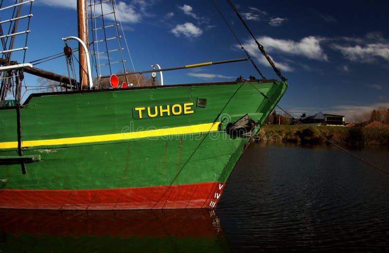 MV Tuhoe. Kaiapoi NZ royalty free stock image