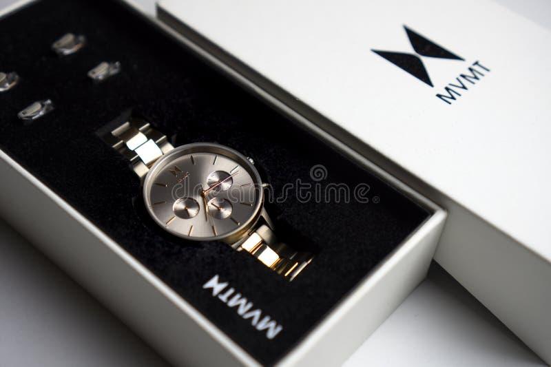 Men S Gold Watch In Box Stock Image Image Of Elegant