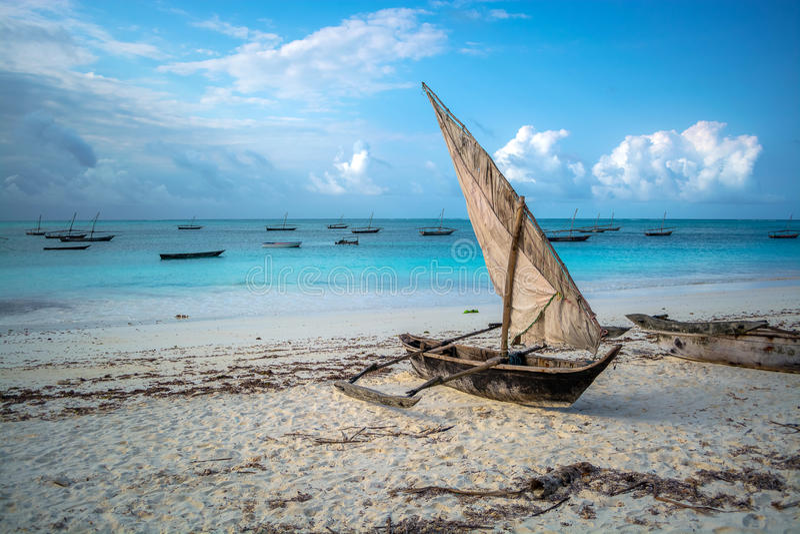 Mvuvi de Zanzibar photographie stock