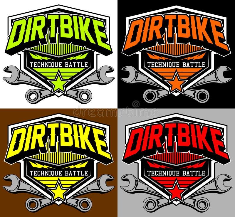 Mx разделения гонок Motocross стоковые изображения rf