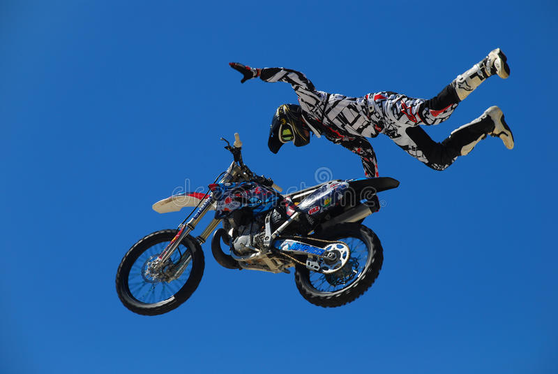 MX del motocrós fotografía de archivo libre de regalías