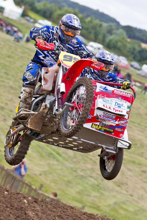 Download MX sidecar jump editorial stock image. Image of competition - 26571374