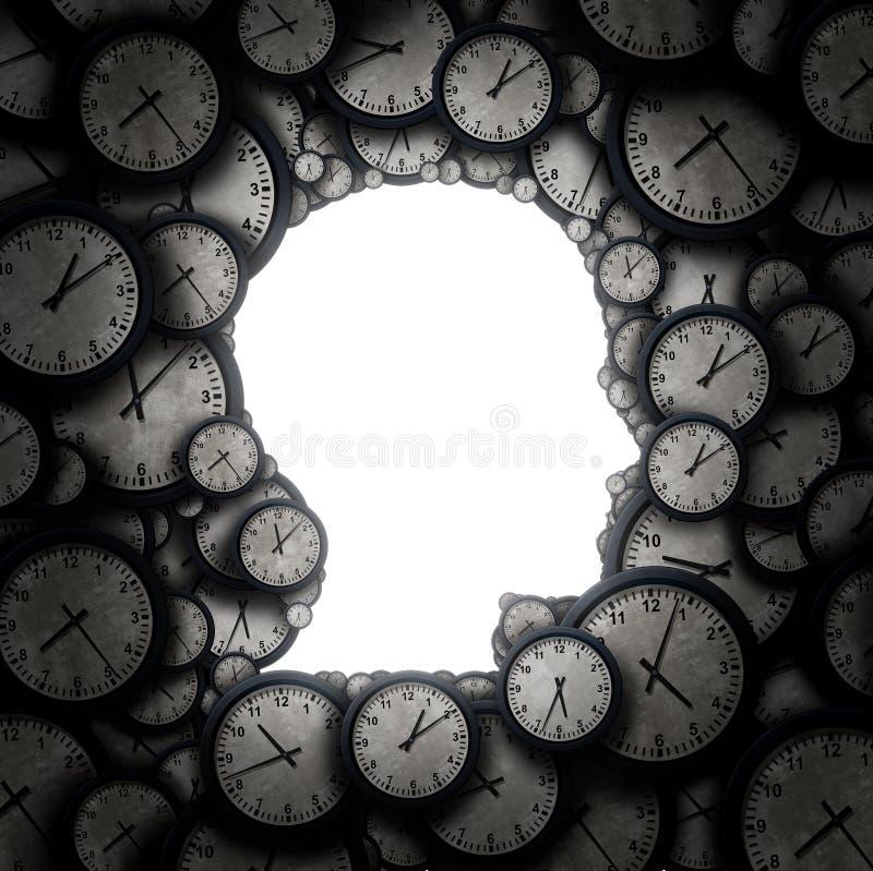 myśl czas ilustracji