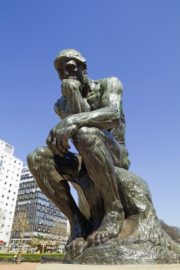 Myśliciel Rodin obrazy stock