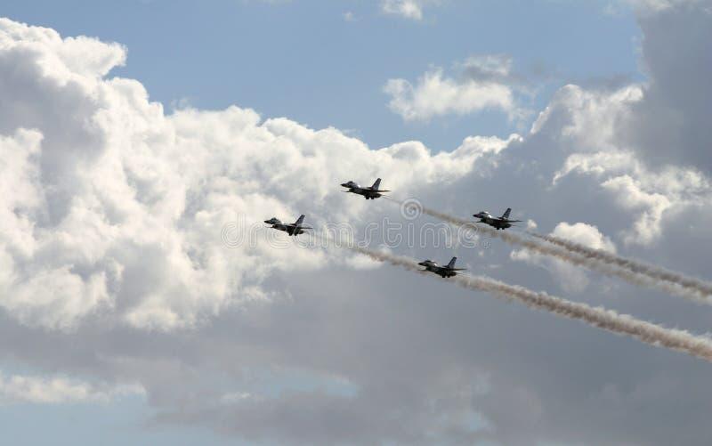 myśliwce zdjęcie stock