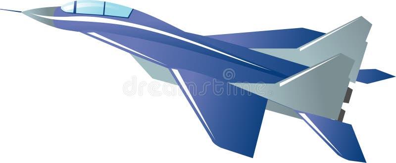 myśliwiec ilustracja wektor