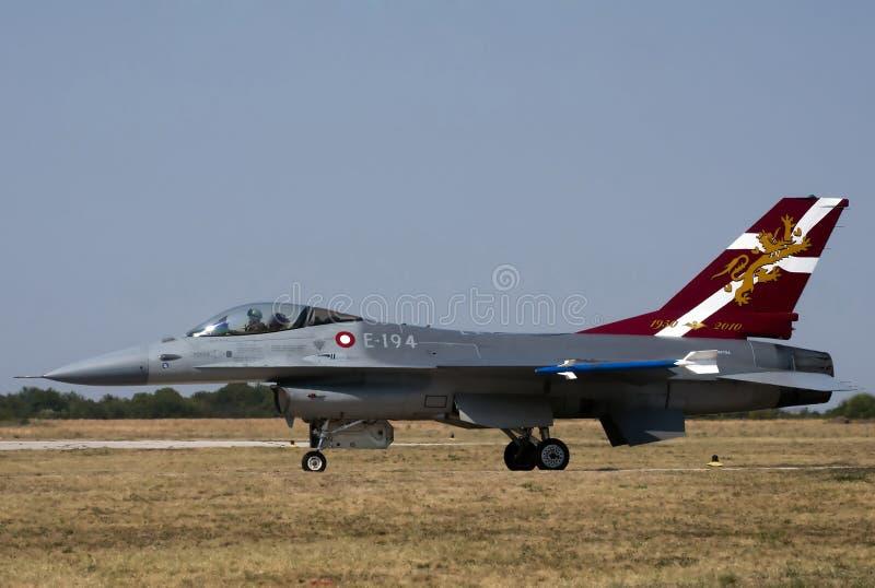 Myśliwiec F-16 obraz stock