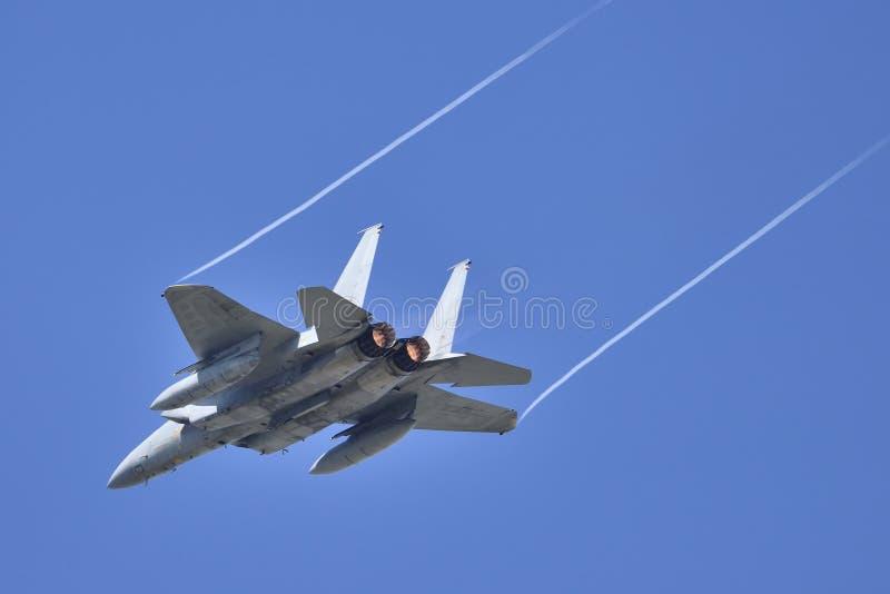 Myśliwiec Odrzutowy fotografia royalty free