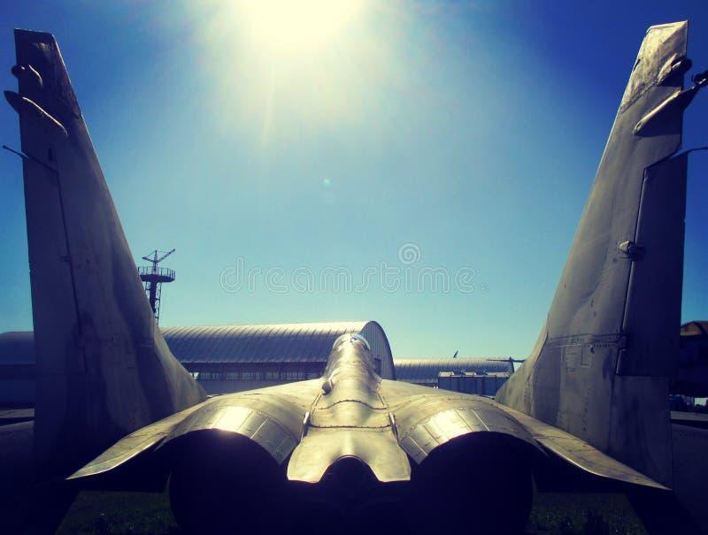Myśliwiec sowieci - zjednoczenie obraz stock